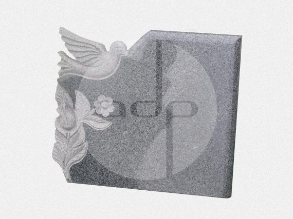 ADPL.03-Lápide com escultura