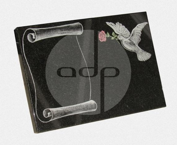 ADPL.04-Lápide com pintura especial