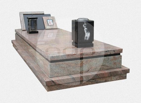 ST03 - Campa em Granito Multicolor e Angola