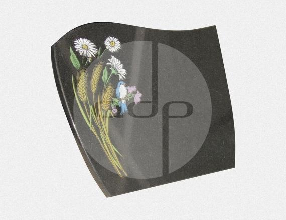 ADPL.21-Lápide com pintura especial