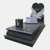 Campa em Granito Preto cm escultura
