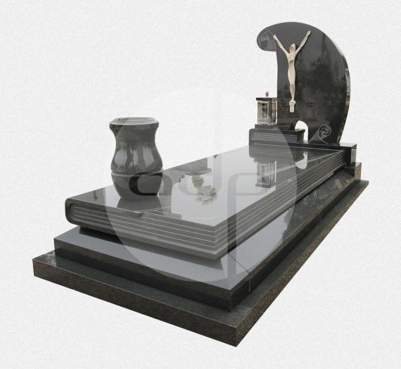 Campa com escultura preta
