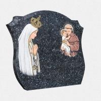 ADPA.06-Alçado Azul com pintura manual da nossa senhora e santo antónio