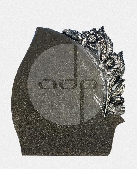 ADPA.07-Alçado Preto com Escultura de flores