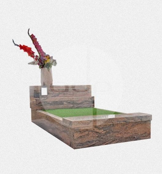 SJ11 - Campa de Jardim em Granito Creme Marfim